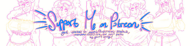 i have a patreon!! pls support me!!