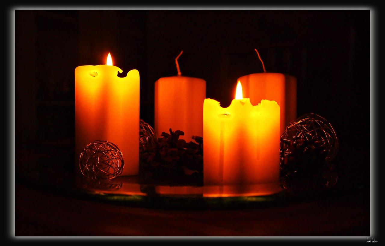 light a candle by hekla01
