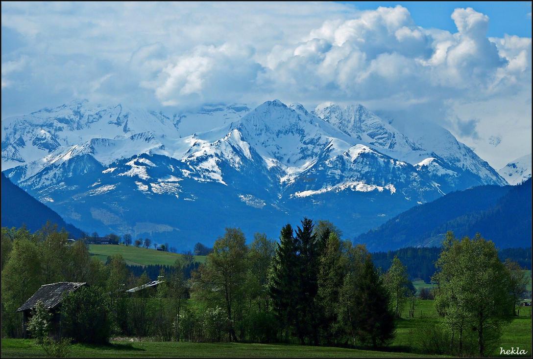alpine landscape by hekla01