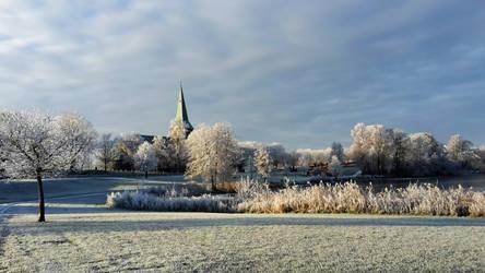 winter arriving by hekla01