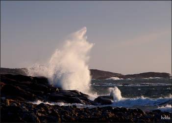 angry sea by hekla01