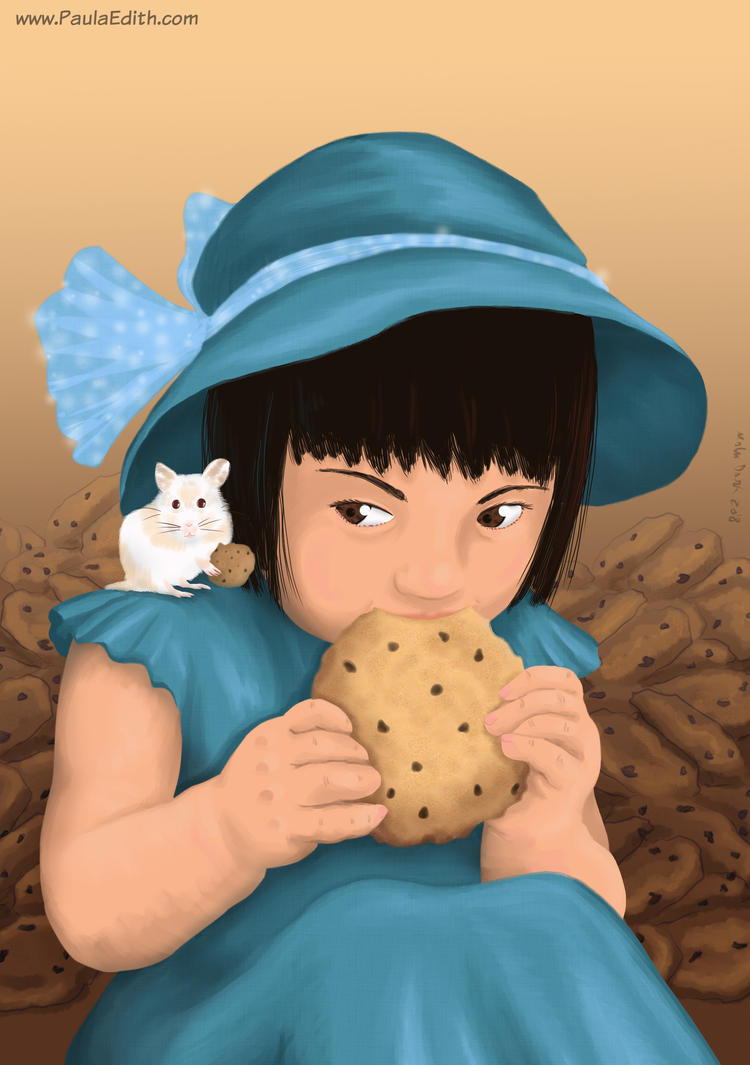 Ladrona de galletas by PaulaEdith