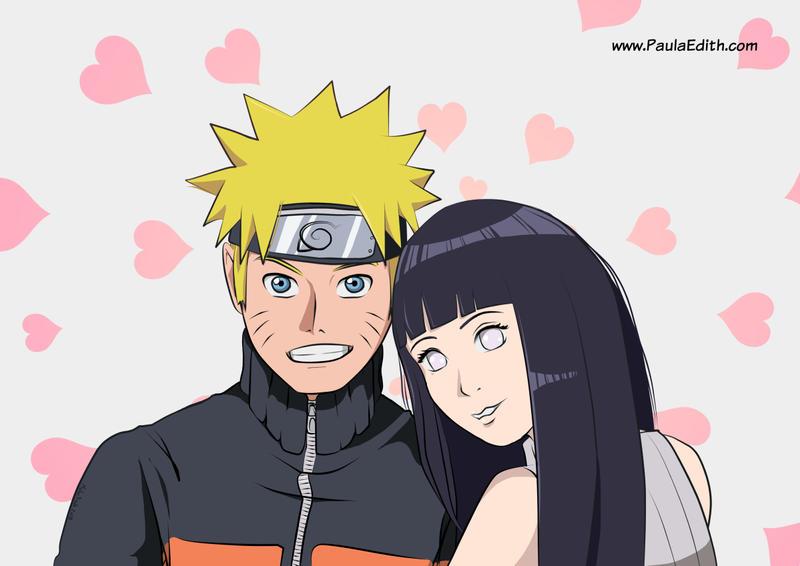 Naruto Hinata Fanart By Paulaedith On Deviantart