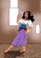 Esmeralda fanart by PaulaEdith