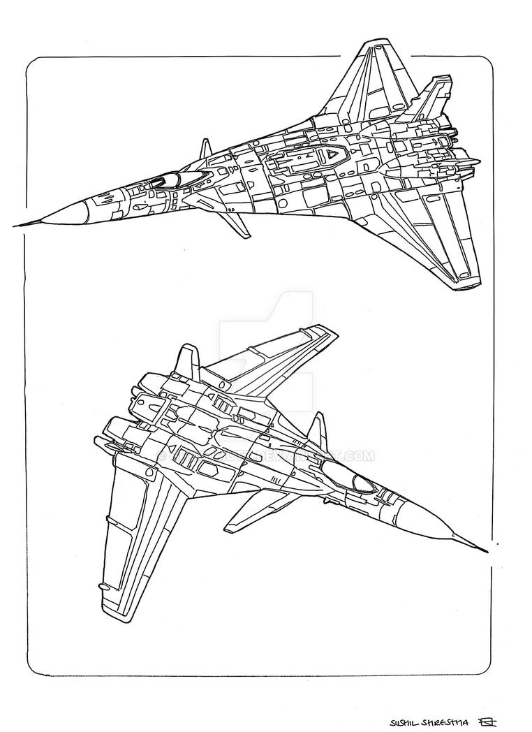 Spaceships fighter 3 by GH0STMUTT