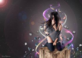 Abstract Nicole by GarryBridgewater
