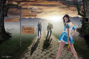 Alice In Zombieland by GarryBridgewater