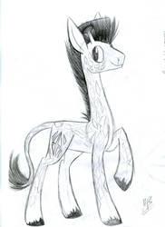 Giraffe sketch by Kobra333