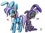 Bonnie and Toy Bonnie(pony)