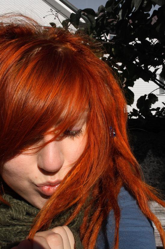 Redhead by Kaptenski