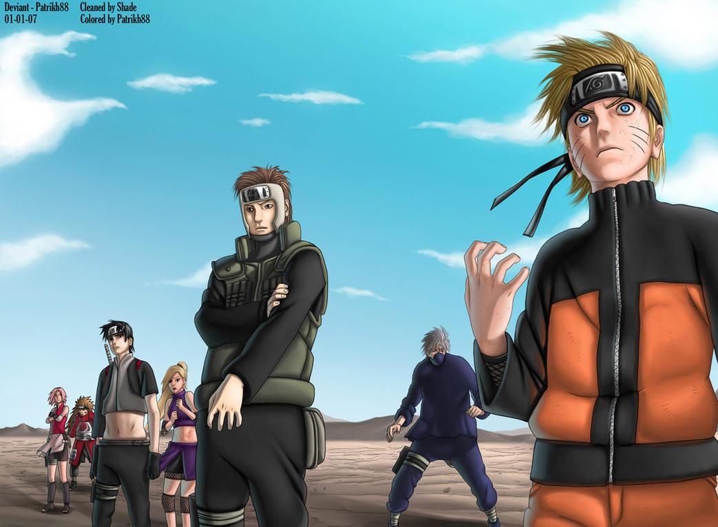 Download Wallpaper Naruto Deviantart - naruto_wallpaper_by_ariki45  Graphic_535480.jpg