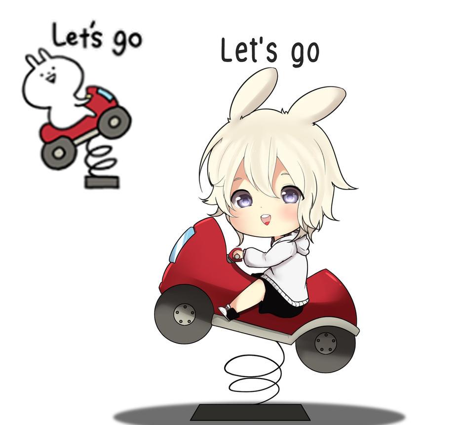 Peppy Usagyuuun : Let's Go by Yoringuel
