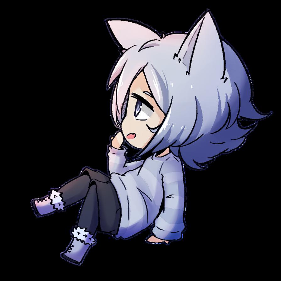 Chibi Treat: Lonely Wolf Treat. by Yoringuel