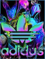 Adidas Black by mykalromero