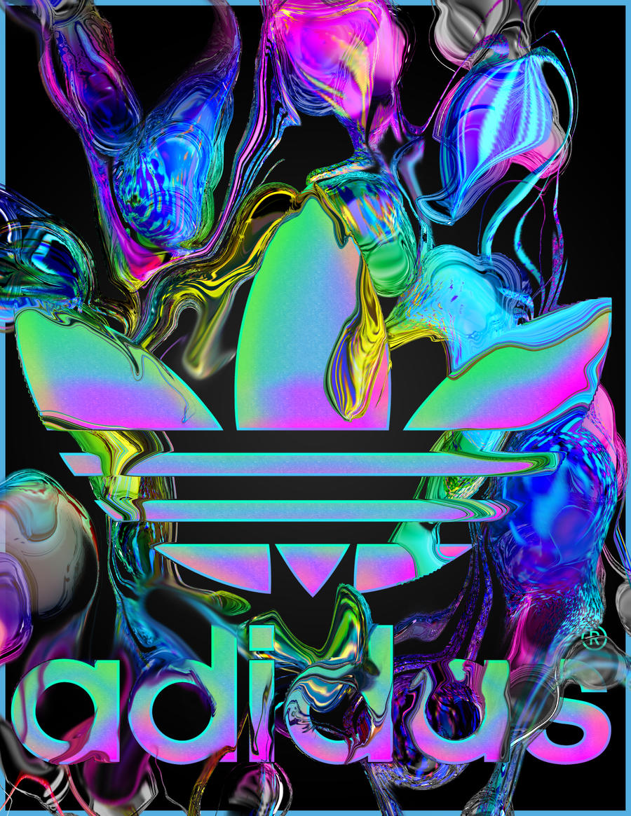 Adidas Black by mykalromero
