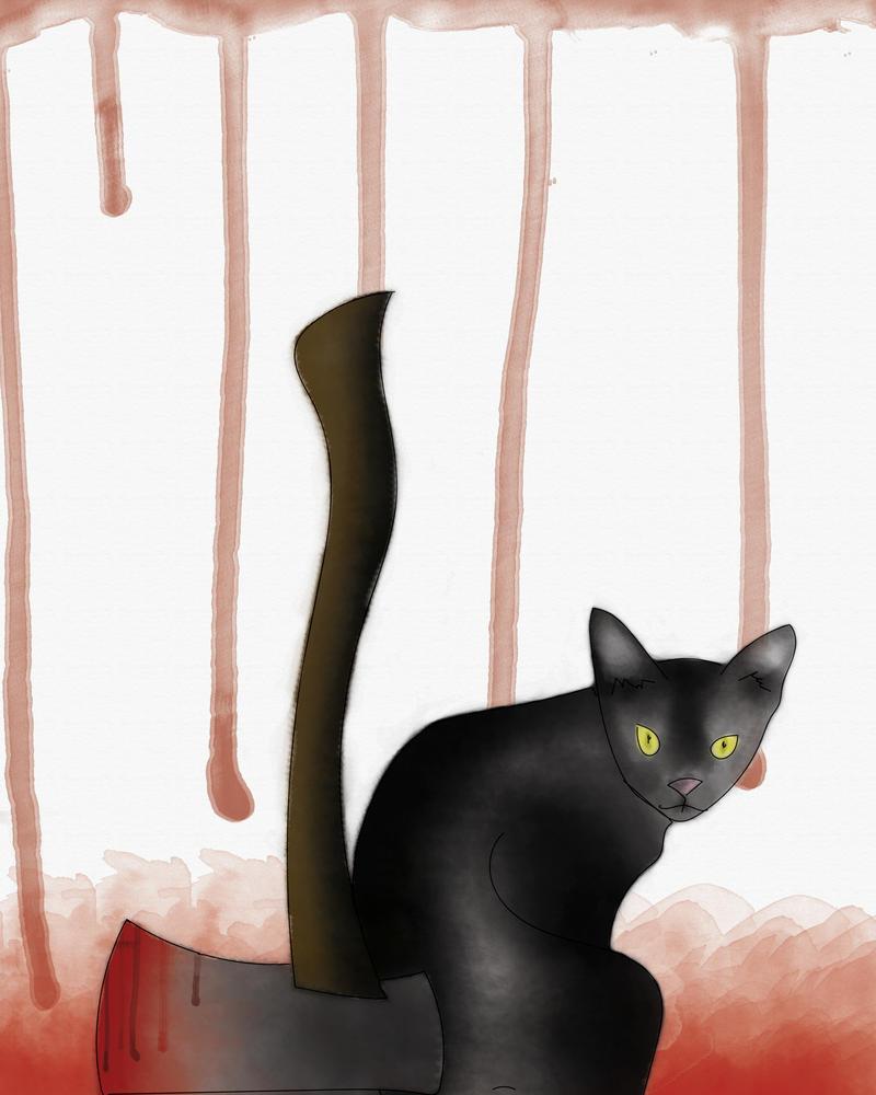 The Black Cat by mykalromero