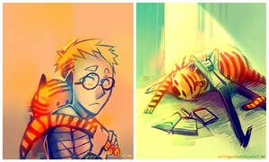 Doctor Calvin and Mister Hobbes