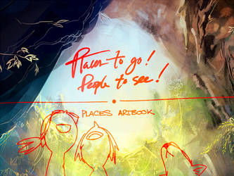 Places Artbook Preview! PREORDERS R OPEN