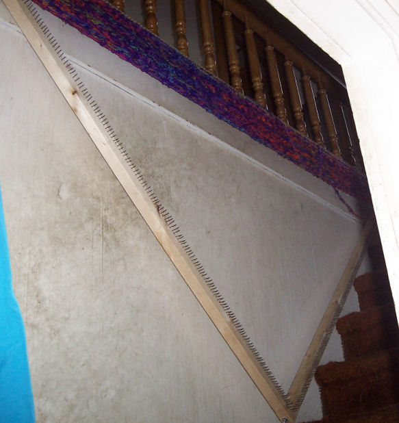 Wall Art Loom Kit : Loom on the wall by cherokeecampfiregirl deviantart