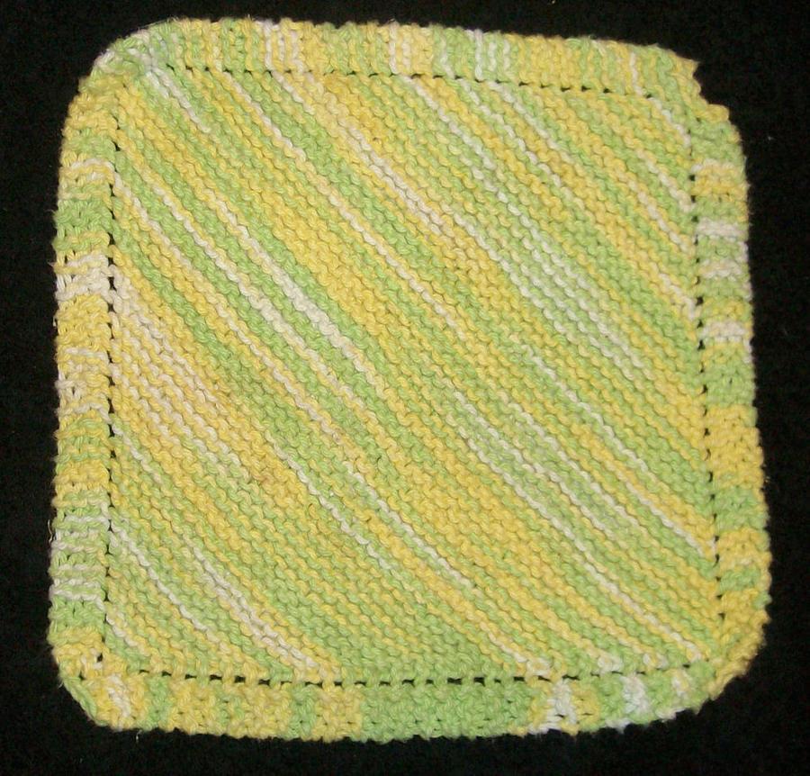 diagonal dishcloth by CherokeeCampFireGirl on DeviantArt