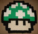 Green Mushroom Rug