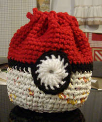 Pokeball basket bag by CherokeeCampFireGirl