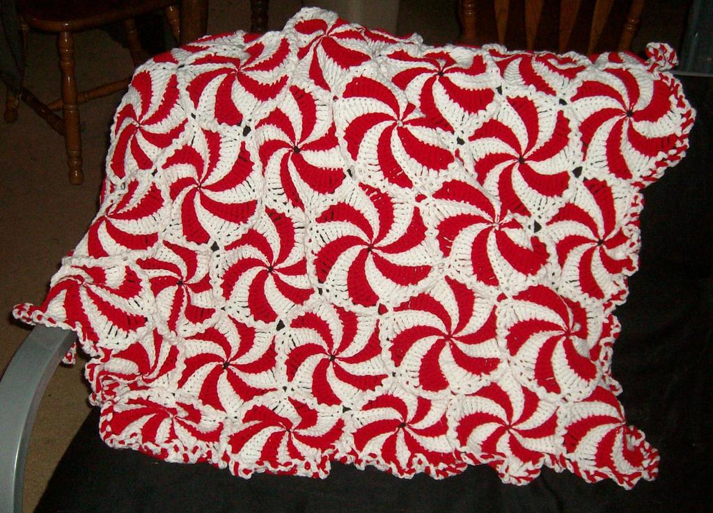 Crochet Pattern For Peppermint Afghan : Peppermint Afghan by CherokeeCampFireGirl on DeviantArt
