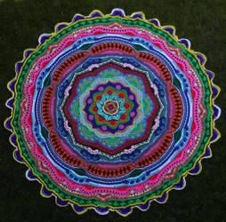 Mandala 16 by CherokeeCampFireGirl