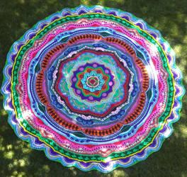 Mandala 17 by CherokeeCampFireGirl