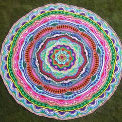 Mandala 18 by CherokeeCampFireGirl
