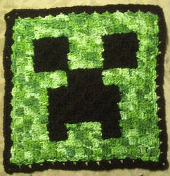 Creeper square large by CherokeeCampFireGirl