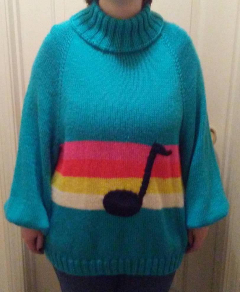Mabel sweater music note by CherokeeCampFireGirl