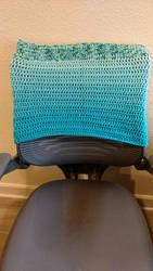 Office Chair Cover by CherokeeCampFireGirl