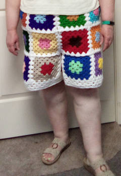 Granny Shorts - Cropped