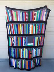 Bookshelf Afghan - Griffin 2