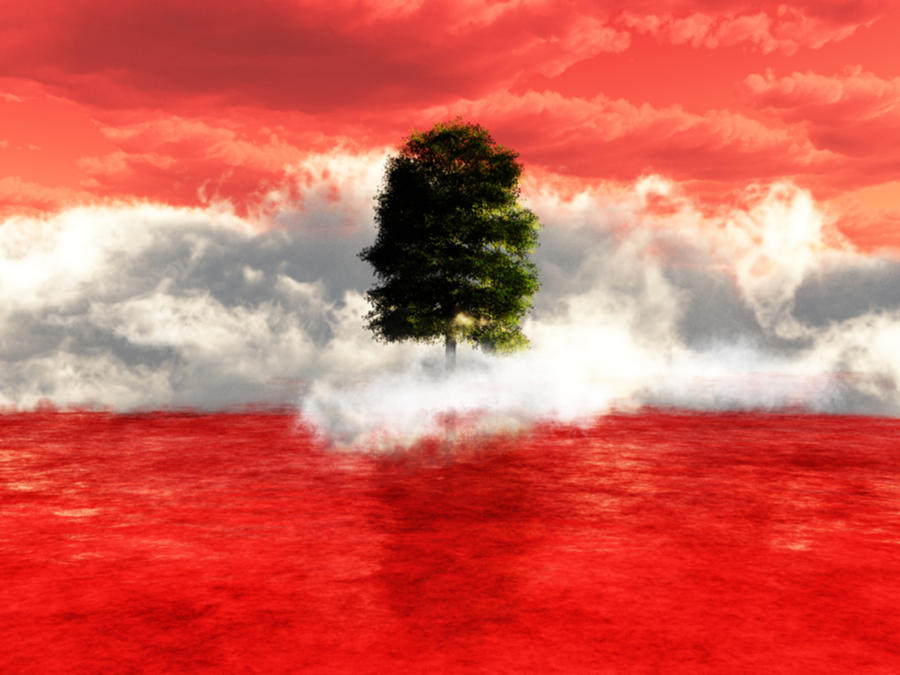 Flag Of Lebanon by HANxOPX