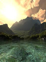 Isla Sorna water closeup