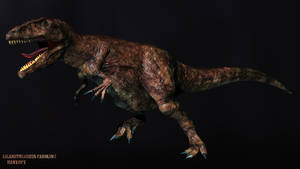 Giganotosaurus Carolinii by HANxOPX