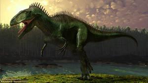 Acrocanthosaurus by HANxOPX