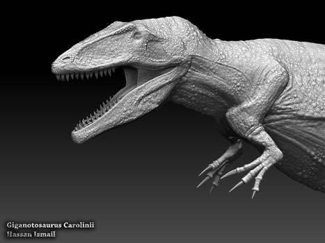 Giganotosaurus Carolinii - ZBrush 2