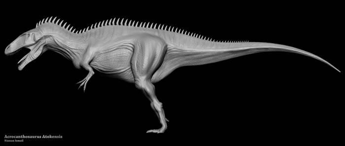 Acrocanthosaurus Atokensis - ZBrush
