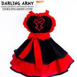Heartless Kingdom Hearts Cosplay Apron by DarlingArmy