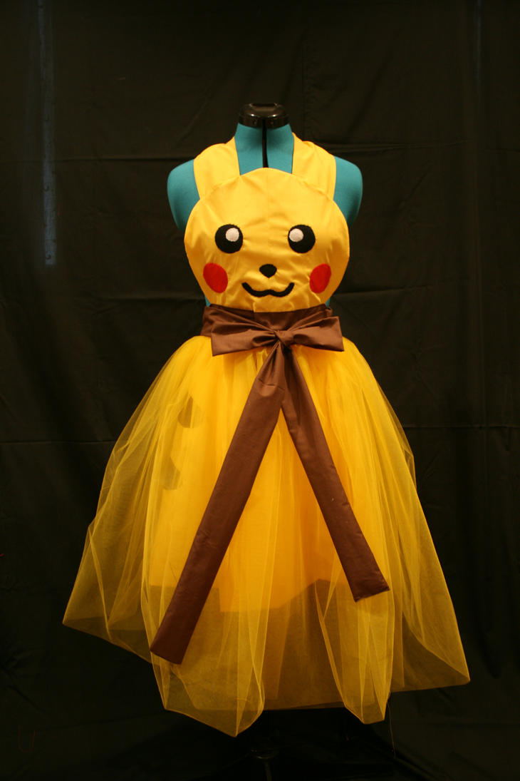 Pikachu Ballgown Cosplay Apron by DarlingArmy