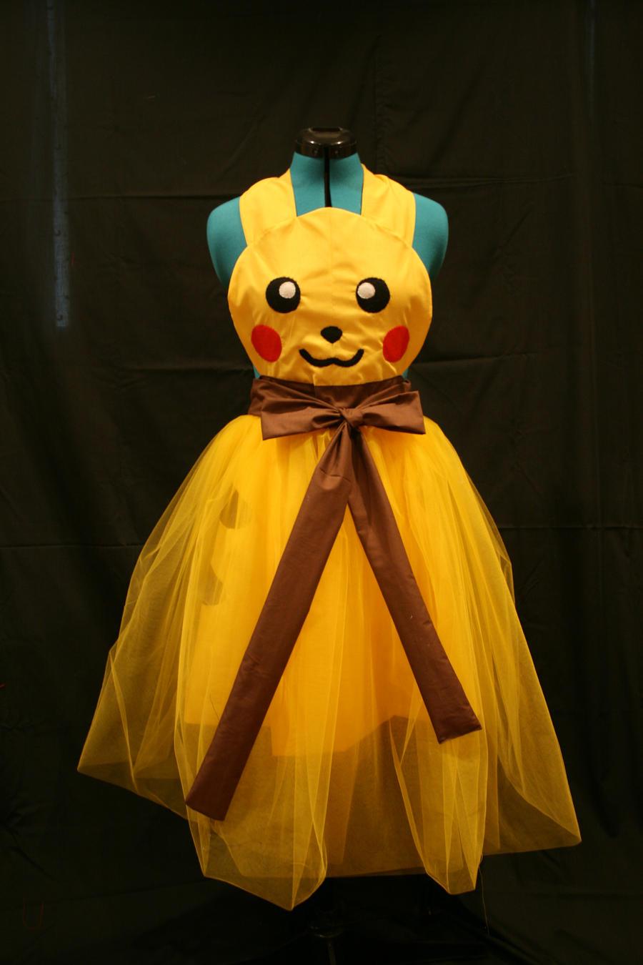 Pikachu Ballgown Cosplay Apron by DarlingArmy