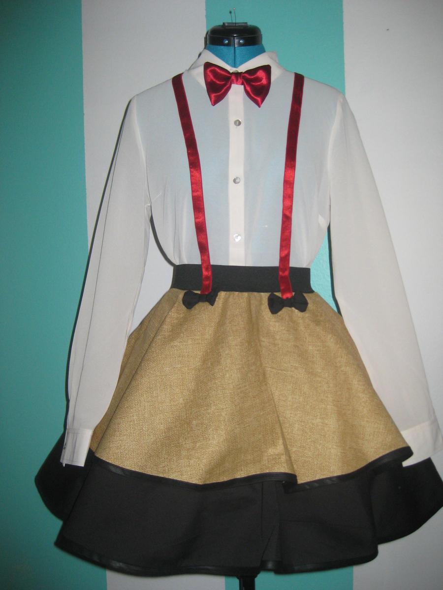 Eleventh Doctor - Matt Smith - Cosplay Skirt by DarlingArmy