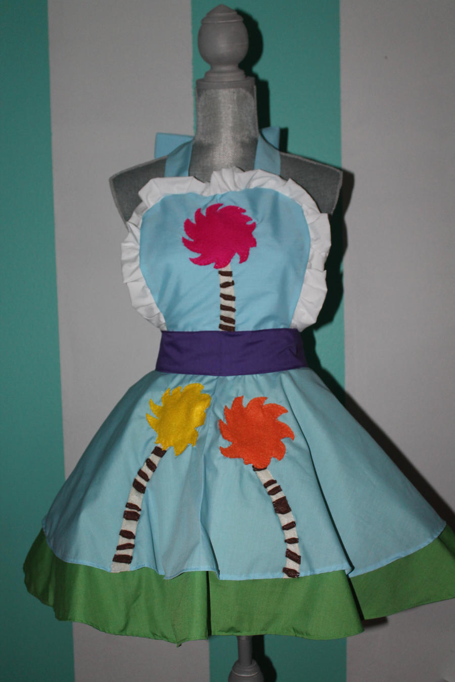 Truffula Tree - The Lorax - Cosplay Pinafore by DarlingArmy