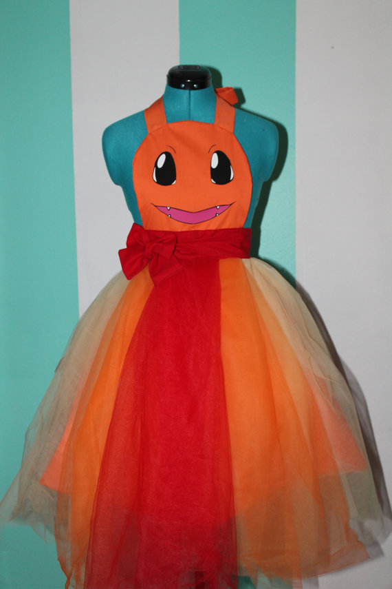 Charmander - Pokemon - Balgown Cosplay Apron by DarlingArmy