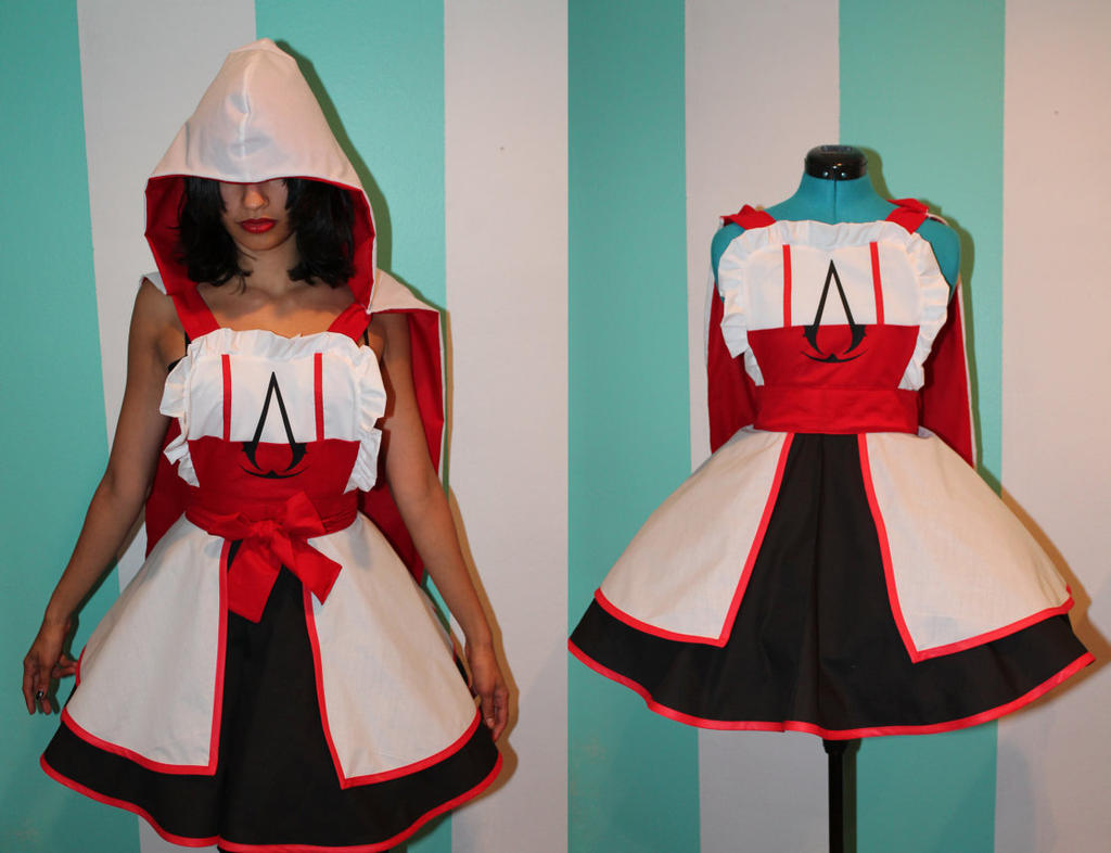 Assassin's Creed Inspired Cosplay Pinafore by DarlingArmy