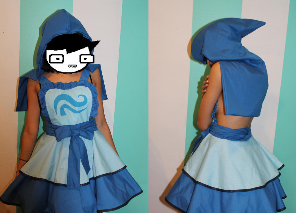 John Egbert Inspired Cosplay Pinafore Commission By Darlingarmy On