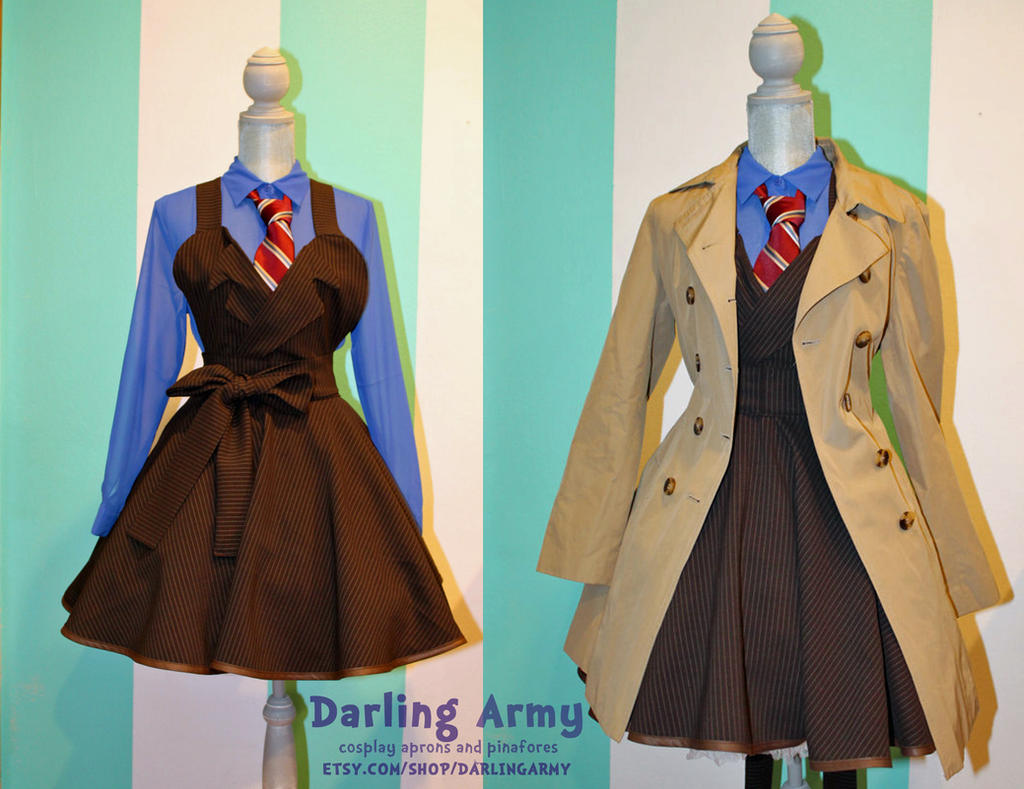 David Tennant -Tenth- Doctor Who Cosplay Pinafore by DarlingArmy